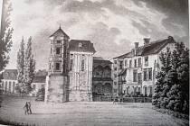 Strážnický zámek na konci XVIII. století