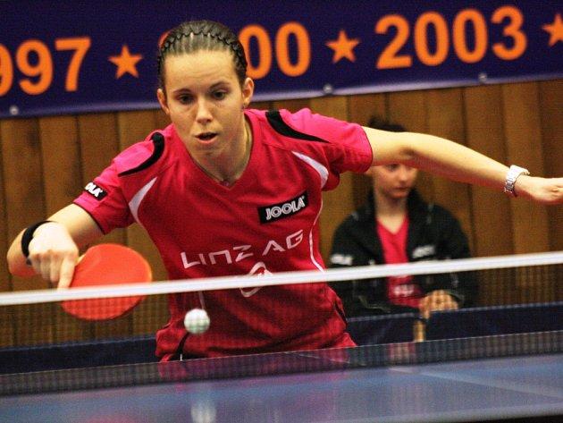 Česká reprezentantka Iveta Vacenovská.