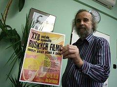 Marcel Řimák je zakladatelem festivalu Seminář ruských filmů.