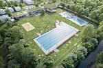 Čtyři roky pracují Kyjovští na projektu výstavby krytého bazénu, chtějí začít stavět příští rok. Rekonstrukce se dočká i stávající koupaliště. Celkové náklady šplhají k 180 milionům korun.
