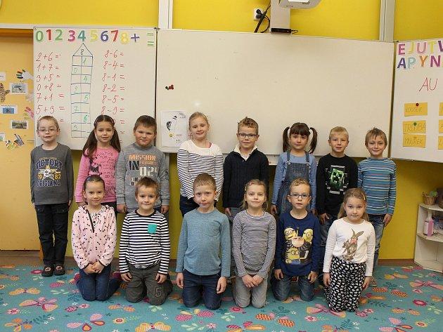 Žáci I.B ze Základní školy Vančurova vHodoníně.