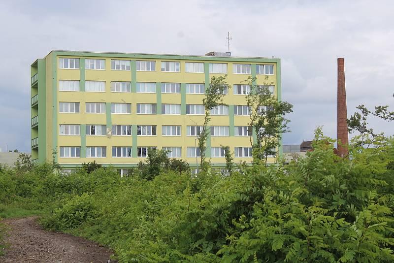 Internát Integrované střední školy v Hodoníně.