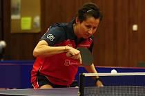 Stolní tenistky Hodonína prohrály v úvodním čtvrtfinále Poháru ETTU jasně 0:3. Ve Francii neuspěla ani česká reprezentantka Renáta Štrbíková (na snímku).