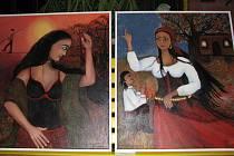 Výstava fotografií zaplnila čejkovickou základní školu.