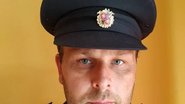 Velitel hasičů Emil Venčák.