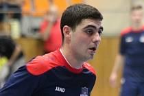 Slovenský futsalista Juraj Višváder se v derby s brněnským Helasem blýskl dvěma góly. Tango doma jihomoravskému rivalovi podlehlo 2:5.