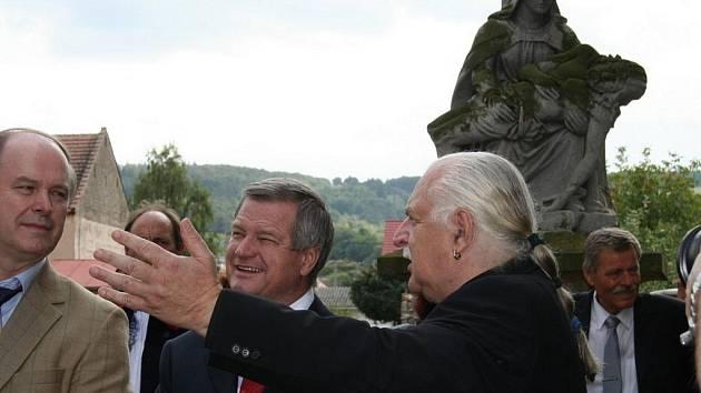 Milan Knížák v Kněždubu