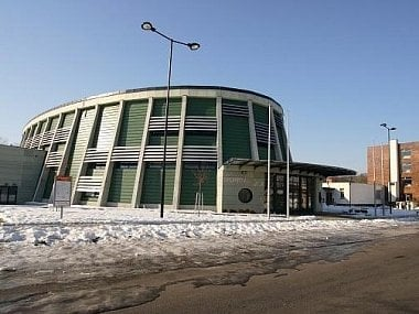 Víceúčelová sportovní hala v Hodoníně - ilustrační foto.