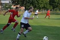 Fotbalisté Dolních Bojanovic zažívají povedený vstup do okresního přeboru. Po Svatobořicích si poradili i s Kostelcem.