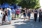 Součástí festivalu Ozvěny Horňácka ve Velké nad Veličkou bylo i putování Cestami suchovských republikánů či bělokarpatský biojarmark. V druhém patře obecního úřadu si lidé mohli prohlédnout výstavu kočárků.