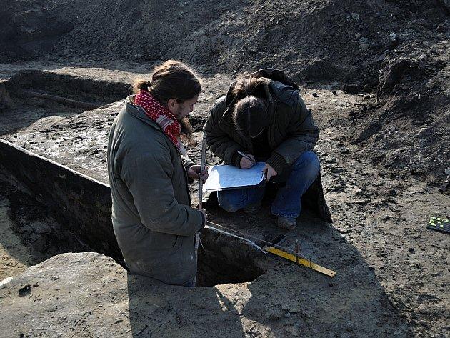 Archeologové Masarykova muzea v Hodoníně - ilustrační foto.