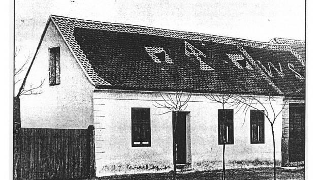 Rodný dům Masaryka v Kopčanech.