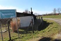 Místa u řeky ve Veselí nad Moravou, kde místní naposled viděli pohřešovanou čtyřiasedmdesátiletou ženu.