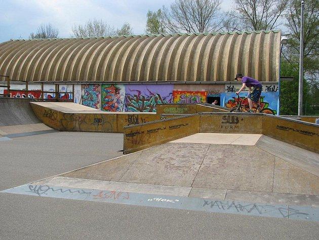 Veselský skatepark.