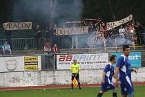 Fanoušci Hodonína dali během derby najeco, co si myslí o působení Vracova v divizi D. Nedělní výsledek jkim dal za pravdu.