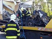 Smrtlená nehoda u Hodonína.