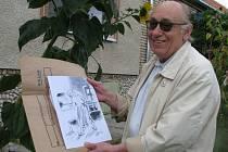 Zubař Alois Šafránek v Banátu nejen ordinoval, ale i kreslil tamní obyvatele.