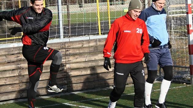 Fotbalisté divizního Hodonína v sobotu dopoledne zahájili zimní přípravu.