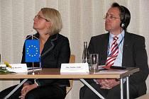Konference středně velkých evropských měst v hodonínských lázních.