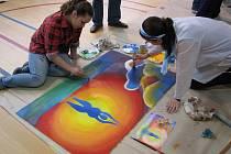 Výtvarné sympózium Kroky k umění.