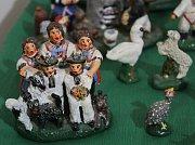 Zahájení výstavy Pro Krista pána... ve Vlastivědném muzeu v Kyjově. K vidění jsou unikátní betlémy od Martina Krista.