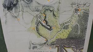 Řeka Morava v Rohatci a jeho okolí včetně staré plavební komory