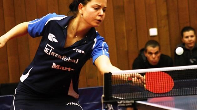 Hodonín bude v pátečním utkání Ligy mistryň spoléhat především na českou reprezentantku Kateřinu Pěnkavovou.