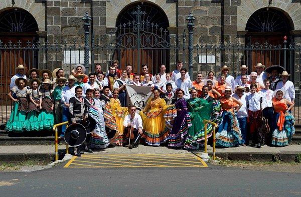 Soubor Salajka zDambořic přivezl umění Slovácka do Kostariky.