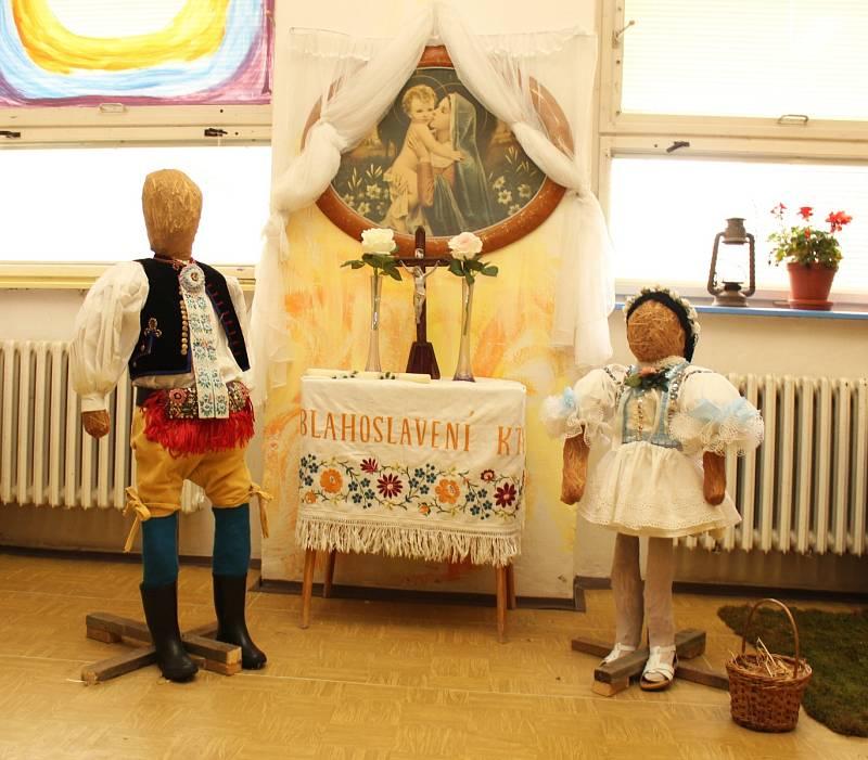 Jako doprovodný program hodů ve Vracově posloužily dvě výstavy - Naše děcka a výtvory ze stavebnice lego.