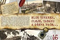 Titulní strana hodonínského nástěnného kalendáře na rok 2016.