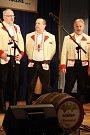 Předfašaňkové setkání mužských sborů ve Vacenovicích. Mužský sbor z Nedakonic.