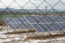 U Kyjova vyrostla nová solární elektrárna.