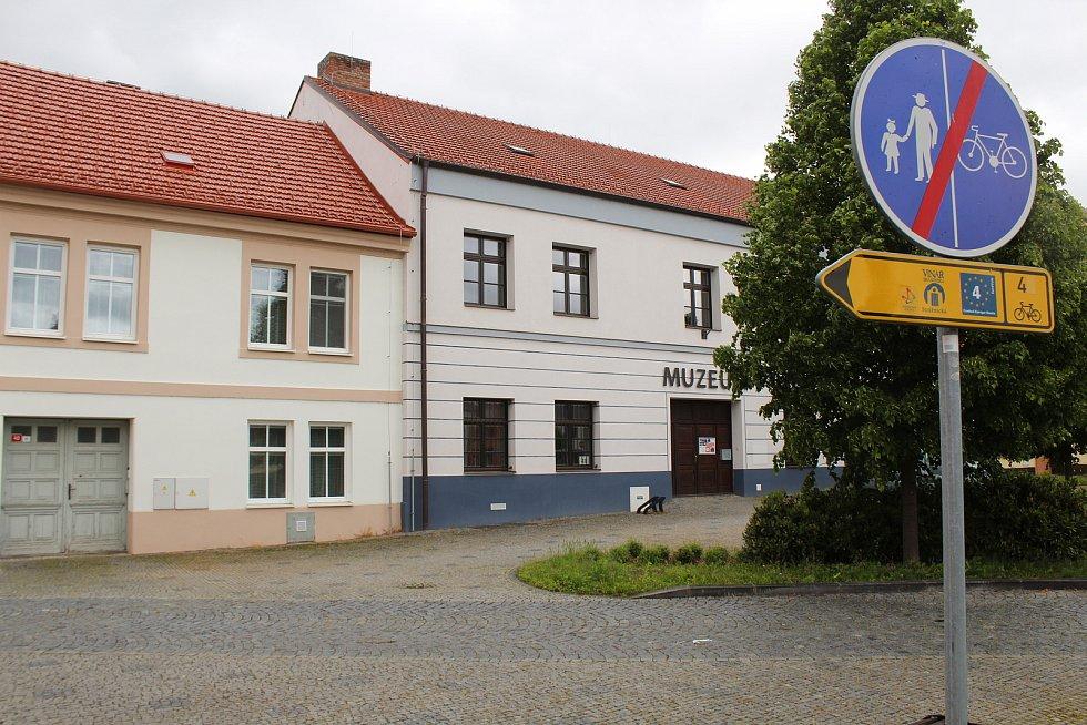 Bartolomějské náměstí ve Veselí nad Moravou.