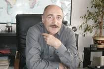 Vladimír Šťava, ředitel hodonínského úřadu práce.
