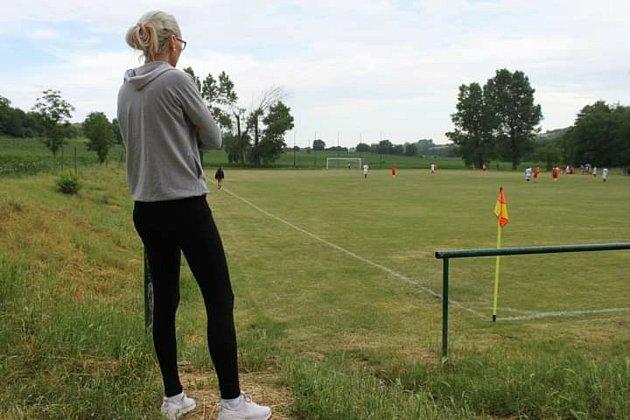 Fotbalové hřiště se stalo pro Marianu druhým domovem.