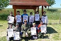 Kyjovská městská organizace Moravského rybářského svazu pasovala mladé rybáře do stavu rybářského cechu.