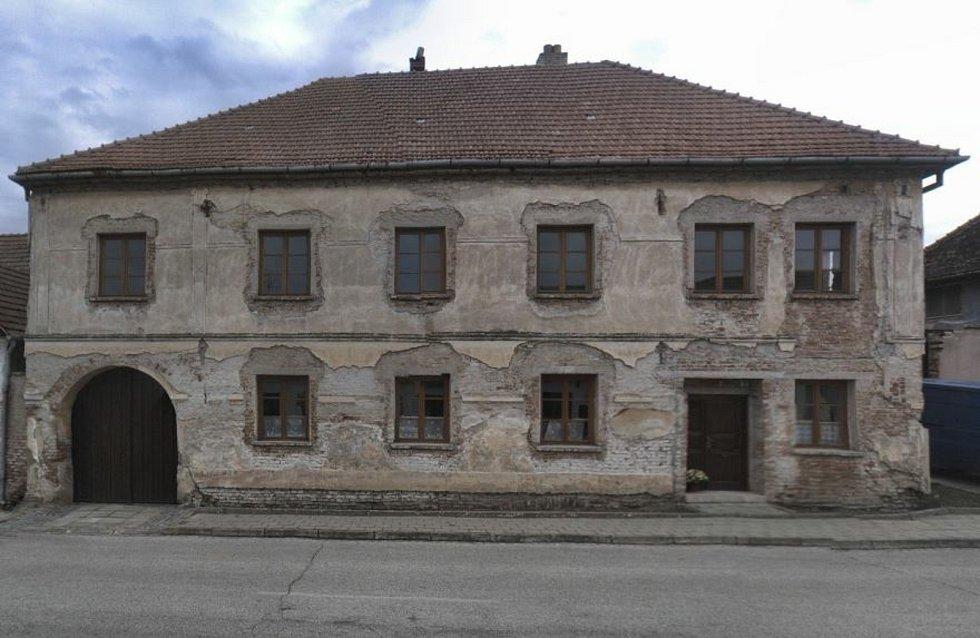 Dům v Pouzdřanech na Břeclavsku.