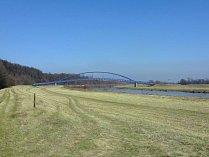 Přes řeku Moravu vznikne nová lávka.