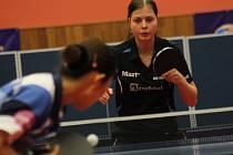 Česká reprezentantka Kateřina Pěnkavová prohrála v Maďarsku všechny zápasy až po pětisetových bitvách.