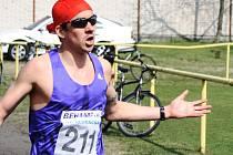 Devětadvacetiletý vytrvalec Jakub Valachovič (na snímku) si podruhé za sebou podmanil Běh osvobození Vacenovic.