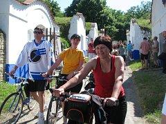 Do petrovských Plžů přijelo tisíc cyklistů.