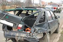 Ve Strážnici došlo v dopoledních hodinách ke srážce osobního auta a osobního vlaku.