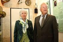 Paul Hellmann s chotí Wendelin navštívili hodonínské Muzeum naftového dobývání a geologie.