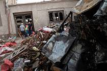 Mnohým lidem v postižených oblastech zbyly z domovů jen trosky.