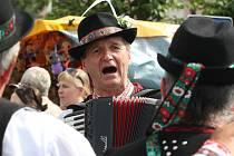 Sedmdesátý ročník mezinárodní folklorního festivalu ve Strážnici.