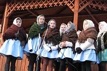 Po tradiční roční přestávce se do Vracova vrátily Vánoce postaru.