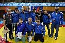 Na zisku titulu se pod vedením trenérů Oldřicha Kučery a Radomíra Lišťáka podílel celý tým.