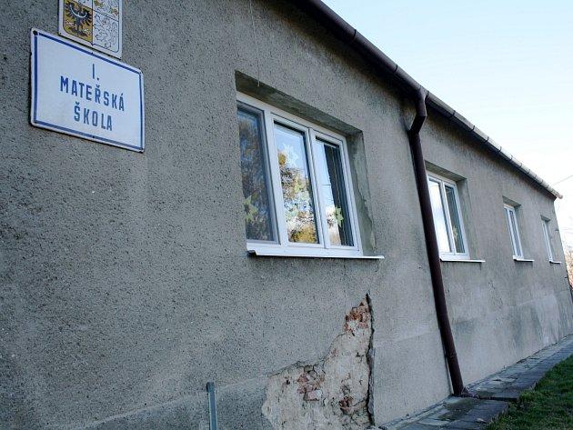 Mateřská škola ve Svatobořicích.