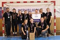 Mladé házenkářky z Velké nad Veličkou skončily ve finále sportovní ligy základních škol na třetím místě.