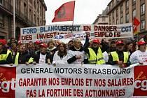 Vyvolá finanční krize u nás stávky jako ve Francii.